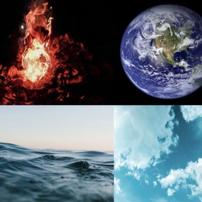 Fire, Earth, Air, Water